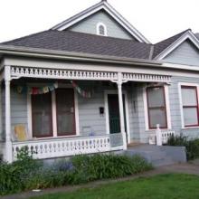 """730 Morgan Street. Built between: 1904-1908.Style: Queen Anne. Historic name: """"John Schroder House""""."""