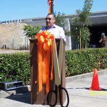 Mayor Olivares - Sixth Street Undercrossing Grand Opening - Oct. 2012