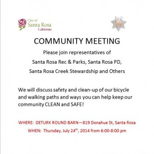 Community Meeting 7.24.14