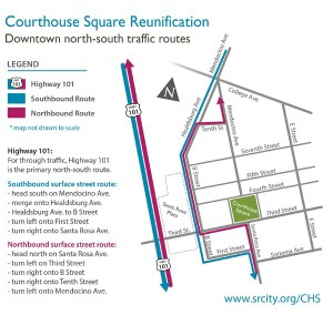 CHSQ Traffic re-route