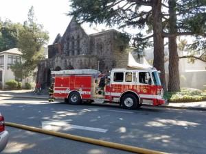 Arson fire at St. Rose Church
