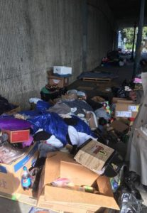 Encampments - Hwy 101 Undercrossings