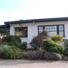 412 Lincoln Street. Built between 1923 and 1925. Style: Bungalow.