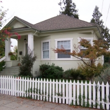 637 B Street. Built between 1909-1914.  Style: Bungalow. Remodeled in last 10 years.
