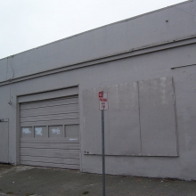 437 A Street. Metal building built between 1915-1923. At one time the Engman Garage. Now owned by the city.