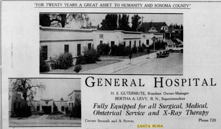 A Street - 465, General Hospital