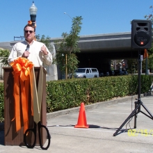 Allen Thomas, West End Neighborhood - Sixth Street Undercrossing Grand Opening - Oct. 2012