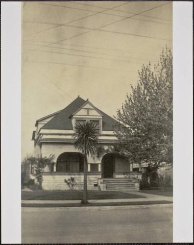 431 Tenth Street in 1920 - Drake Residence