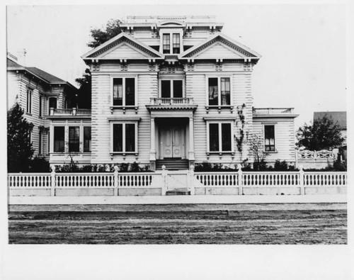 Boyce home on B Street - 1901