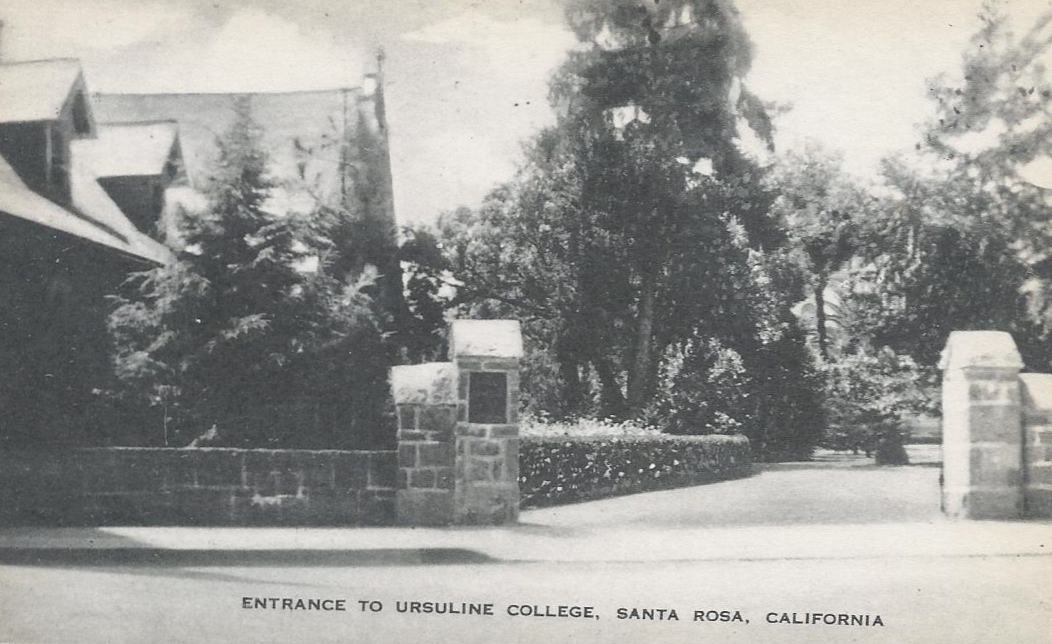 Entrance to Ursuline College on B Street