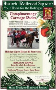 Railroad Square 2014 Holiday Event