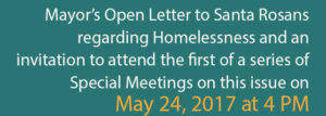 Mayors Letter on Homeless meeting