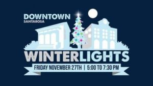 Santa Rosa Winterlights event