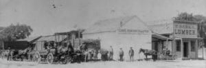 Frank Berka's Lumber Yard - circa 1883