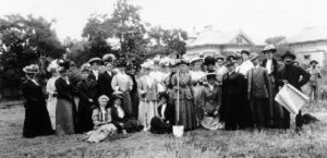 1908 Groundbreaking for Saturday Afternoon Club