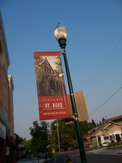 St. Rose Neighborhood Banner